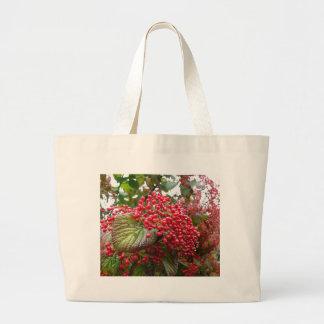 Bayas rojas bolsa de mano