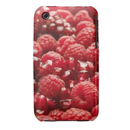 Bayas rojas sanas y nutritivas iPhone 3 Case-Mate cárcasa