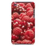 Bayas rojas sanas y nutritivas barely there iPod funda