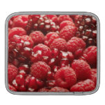 Bayas rojas sanas y nutritivas funda para iPads