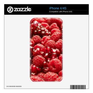 Bayas rojas sanas y nutritivas skins para eliPhone 4