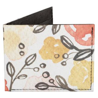 Bayas y floral billeteras tyvek®