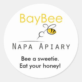 BayBee Eat your Honey sticker