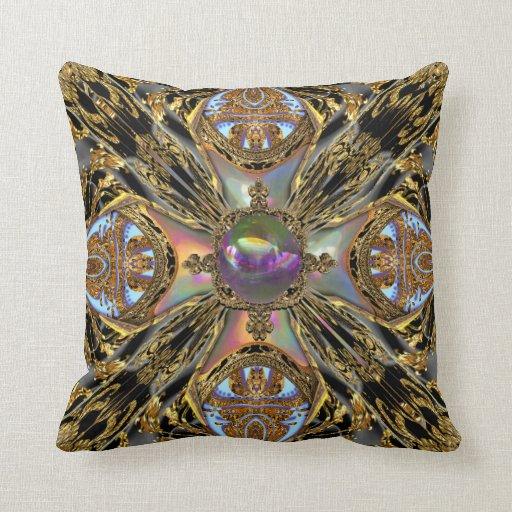 Victorian Throw Pillows : Baydfly Victorian Throw Pillow Zazzle
