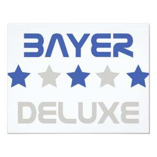 bayer deluxe icon card