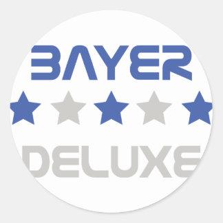 bayer deluxe icon round sticker