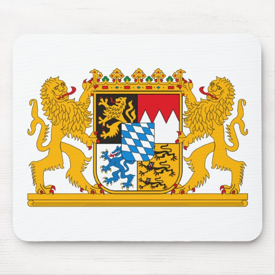 Bayern Coat of Arms Mousepad