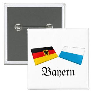 Bayern, Germany Flag Tiles Pin