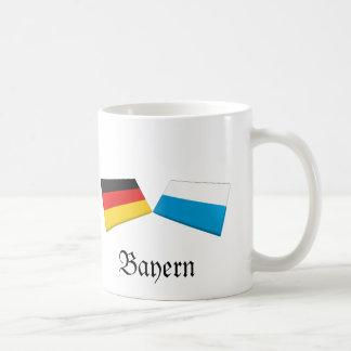 Bayern, Germany Flag Tiles Coffee Mug