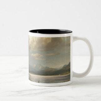 Bayern Landscape, 1856 Two-Tone Coffee Mug