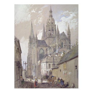 Bayeux Cathedral, View from the South East Postcard