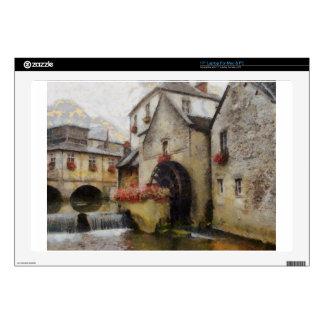 Bayeux en Francia septentrional Calcomanías Para Portátiles