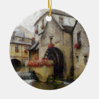 Bayeux in northern France. Ceramic Ornament