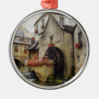 Bayeux in northern France. Metal Ornament