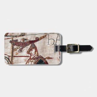 Bayeux Tapestry Banner Travel Bag Tag