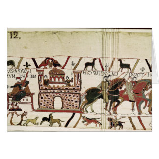 Bayeux Tapestry Earl Harold to Duke of Normandy Card
