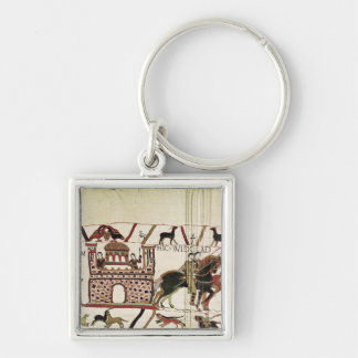 Bayeux Tapestry Earl Harold to Duke of Normandy Keychain
