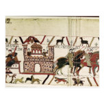 Bayeux Tapestry Earl Harold to Duke of Normandy Post Card