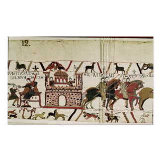 Bayeux Tapestry Earl Harold to Duke of Normandy Poster