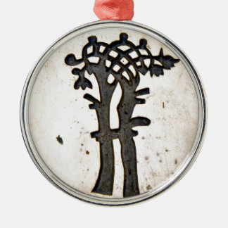 Bayeux Tapestry Tree Metal Ornament
