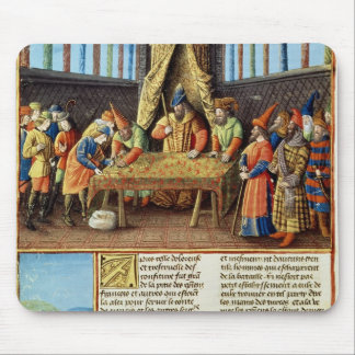 Bayezid I receiving the ransom Mouse Pad