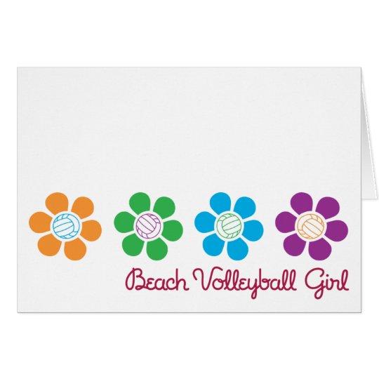 Bayflower Beach Volleyball Card