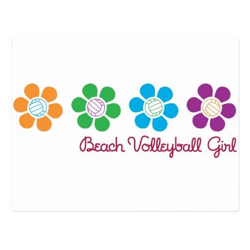 Bayflower Beach Volleyball Postcard