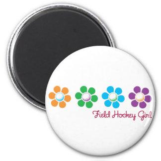 Bayflower Field Hockey 2 Inch Round Magnet