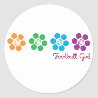 Bayflower Football Classic Round Sticker