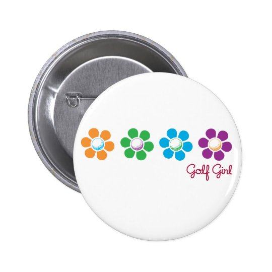 Bayflower Golf Button