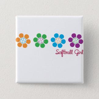 Bayflower Softball Button