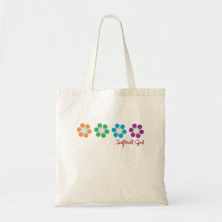 Bayflower Softball Tote Bag