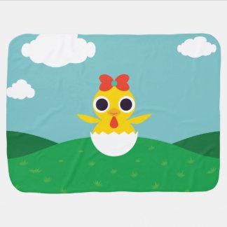 Bayla el polluelo mantitas para bebé