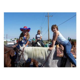 Baylie en el desfile de Phelan Tarjetas Postales