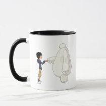Baymax and Hiro Fist Bump Mug