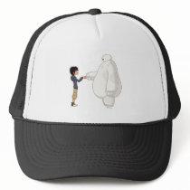 Baymax and Hiro Fist Bump Trucker Hat