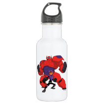 Baymax and Hiro Stainless Steel Water Bottle