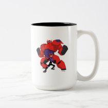 Baymax and Hiro Two-Tone Coffee Mug