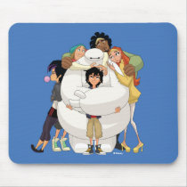 Baymax and his Friends Mouse Pad