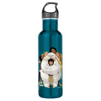 Baymax and his Friends Stainless Steel Water Bottle