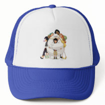 Baymax and his Friends Trucker Hat