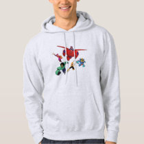 Baymax and his Super Hero Team Hoodie