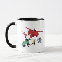 Baymax and his Super Hero Team Mug