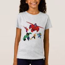 Baymax and his Super Hero Team T-Shirt