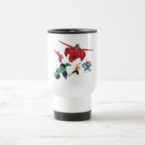 Baymax and his Super Hero Team Travel Mug