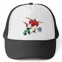 Baymax and his Super Hero Team Trucker Hat