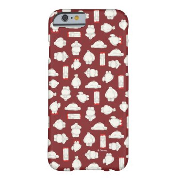 Baymax and Mochi Red Pattern Barely There iPhone 6 Case