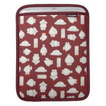 Baymax and Mochi Red Pattern iPad Sleeve
