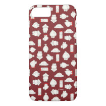 Baymax and Mochi Red Pattern iPhone 8/7 Case