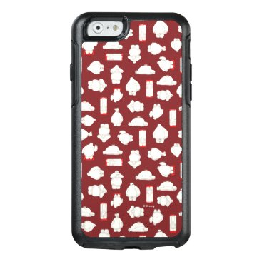 Baymax and Mochi Red Pattern OtterBox iPhone 6/6s Case